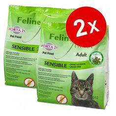 Animalerie  Lot Porta 21 Feline Finest pour chat  Feline Finest Cats Heaven (2 x 10 kg)