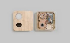 Henri, A Box For Designing The Screenless Interfaces Of Tomorrow. Love the material design.