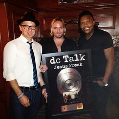 dc Talk together again at Magic Kingdom, Sept 2013 (from tobymac's Facebook page)
