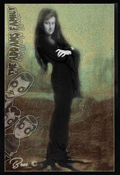 Brus_© Monnalisa Kids, Mona Friends, Mona Lisa Parody, Mona Lisa Smile, Art Jokes, Classical Art, Italian Artist, Caricature, Girl Face