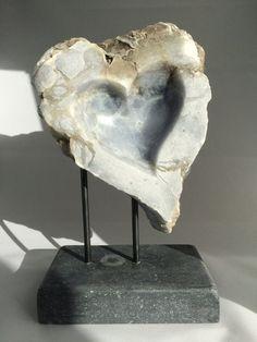 Heart Susan S Modern Decoration modern home decor Abstract Sculpture, Sculpture Art, Stone Sculptures, Steinmetz, Stone Statues, Artistic Installation, Stone Heart, Soapstone, Abstract Shapes