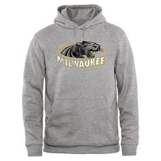 Wisconsin-Milwaukee Panthers Big & Tall Classic Primary Pullover Hoodie - Ash