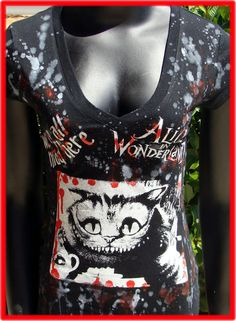 Hey, I found this really awesome Etsy listing at https://www.etsy.com/listing/95970181/diy-alice-in-wonderland-top-cheshire-cat
