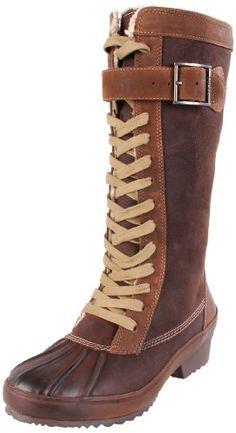 Amazon.com: Sorel Women's Sorelia Earhart Leather Boot: Shoes