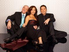 Len, Carrie Ann, & Bruno