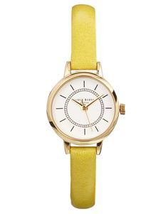 Olivia Burton | Olivia Burton Colour Crush Yellow Watch at ASOS