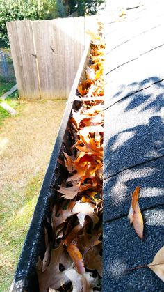 """Another satisfied customer provided us with a great review. https://goo.gl/z9spRR   Get a quote now and say """"goodbye"""" to clogged gutters! https://goo.gl/KEQXdG #gutter #guttercleaning #raingutters #guttersystem"""