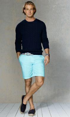 Hudson Oxford Short - Polo Ralph Lauren Shorts - RalphLauren.com