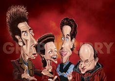 Seinfeld (by Prasad Bhat, via Behance)