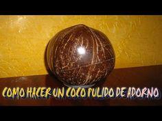 MANUALIDADES CON CASCARA DE COCO - YouTube