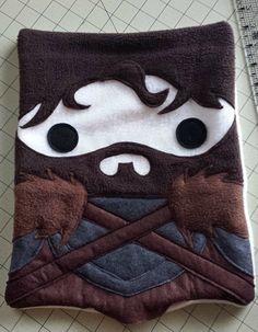 Spiel der Throne inspiriert Throw Pillow Robb stark von telahmarie