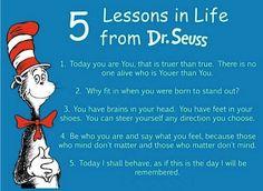 Follow the Doctor's orders: #DrSeus #wordsofwisdom #wisdomtips