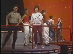 we watched American Bandstand on Saturday mornings after the cartoons.