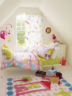 Oh, if only I had the money for this! I pinned this Dolls House Queen Duvet Set from the Designers Guild Kids event at Joss & Main! Kids Bedding Sets, Duvet Sets, Big Girl Rooms, Kids Rooms, Childrens Beds, Kids Decor, Home Decor, Designers Guild, Queen Duvet
