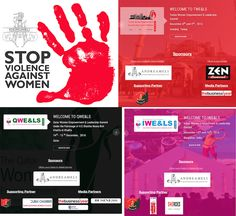 Stop violence against women! Follow our conferences Qatar Turkey India