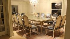 French Savonnerie in Dining Room - traditional - dining room - new york - PEYKAR ORIENTAL RUGS