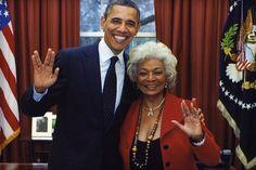 Uhura de Star Trek participará en una misión de la NASA