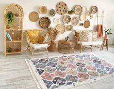 Ikea Must Haves, Modern Bohemian Decor, Sweet Home, Rattan, Bamboo, Living Room, Chinchilla, Design, Home Decor