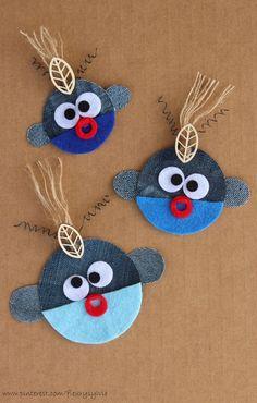La bande des poissons Trop-Pique-Eaux! #jeans#recycle http://pinterest.com/fleurysylvie/mes-creas-la-collec/