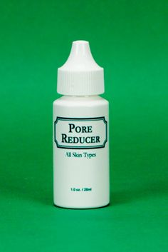 Pore Reducer- Helps reduce the appearance of large pores progressively to close the pores of facial skin. Can be used on all skin types and is especially good for tightening and refining skin pores.