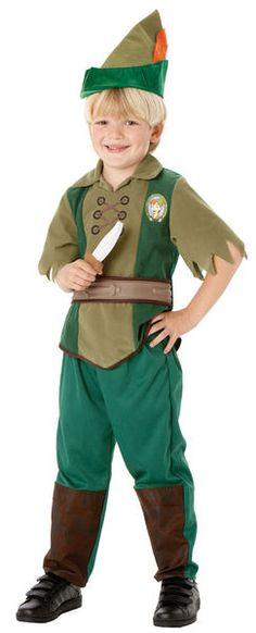 This Peter Pan fancy dress costume is ideal for World Book Day. Buy boys Peter pan costumes and Disney costumes from UK's biggest online retailer of fancy dress. Costume Garçon, Boy Costumes, Costume Shop, Halloween Costumes, Childrens Fancy Dress, Fancy Dress For Kids, Peter Pan Disney, Trajes Peter Pan, Peter Pan Fancy Dress