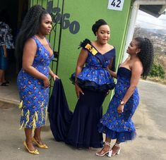 African Traditional Wedding Dress, Traditional African Clothing, Traditional Dresses, African Wedding Attire, African Attire, African Dress, Seshoeshoe Dresses, African Fashion Skirts, African Beauty