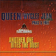 """""""Another One Bites the Dust"""" is a song by the English rock band Queen. Written by bass guitarist John Deacon, the song featured on the group's eighth studio album The Game (1980). The song was a worldwide hit, charting number one on the US Billboard Hot 100, number two on the R charts and the Disco Top 100, and number seven in the UK Singles Chart.[2][3] The song is credited as Queen's best selling single, with sales of over 7 million copies.[4] This version was ranked at number 34 on…"""