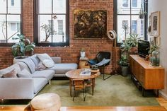 House Tour: A Modern Home in a 100-Year-Old Wool Mill | Apartment Therapy