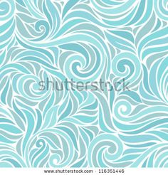 Ornamental frosty or floral background. Seamless pattern for your design wallpapers, pattern fills, web page backgrounds, surface textures. ...