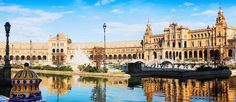 If you want to know how to tour Andalucia's capital city during a trip on a budget, check out when to visit the museums and monuments for free in Seville. Malaga, Granada, Seville Spain, Andalusia, Day Tours, Capital City, World Heritage Sites, Where To Go, Images