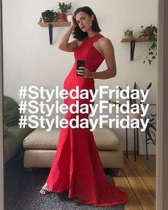 Ein Traum in Rot, Rotes Kleid, Ballkleid, langes Kleid, Kleid mit Schleppe, Zalando, #styledayfriday, Gewinnspiel, Trend Fashion, Womens Fashion, Dress To Impress, Formal Dresses, Red, Style, Red Gown Dress, Ball Gown, Long Dresses