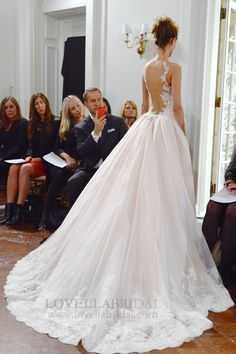 Dreamy ball gown by @inesdisanto.                                                                                                                                                                                 More