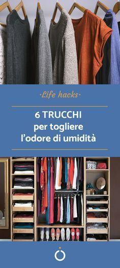 Come togliere l'odore di umidità dagli armadi Ikea Hack Storage, T Shirt Hacks, Ideas Para Organizar, Clothing Hacks, Natural Cleaning Products, Linen Fabric, Clean House, Housekeeping, Tricks