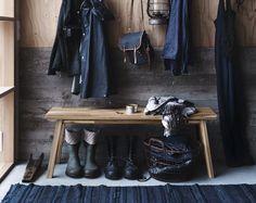 The perfect items for a calm zen-like home.SKOGSTA / IKEA