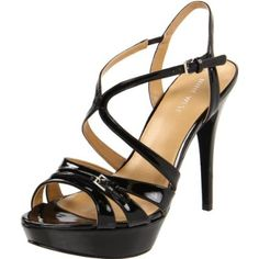 I kind of want these...Nine West Women's Bitten Platform Sandal