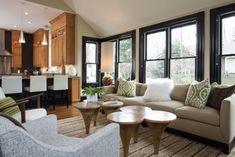 Contemporary Living Room Interior Design Ideas  - 20 Modern Living Room Design Ideas with Unique Coffee Tables
