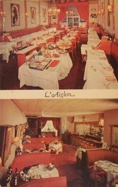 L'Aiglon Restaurant, 13 E. 55th St