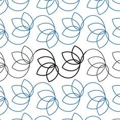 Turning Leaf - Digital - Quilts Complete - Continuous Line Quilting Patterns