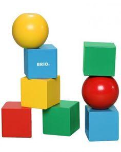 Bausteine magnetisch 8-teilig bunt
