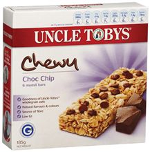 Uncle Toby's Muesli Bar - Chewy Choc Chip - 1 bar