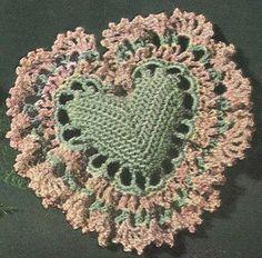 1952 Heart Sachet Bag Vintage Crochet Pattern PDF 095. $3.75, via Etsy.