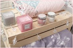 Primark Spring 2015 homeware - bedroom inspiration. Candles and fairylights