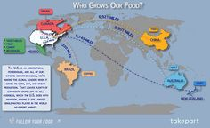 Did you know your food travels thousands of miles to reach you? Find out more at takepart.com/follow-your-food/ #FollowYourFood
