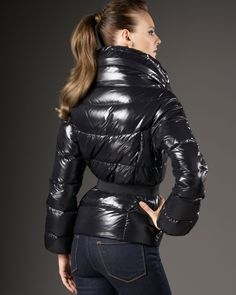 Puffer Coats, Puffer Jackets, Down Suit, Moncler, 21st Century, Leather Pants, Jackets For Women, Walking, Suits