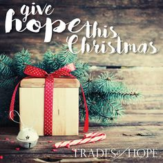 Give hope this Christmas with Trades of Hope. Fair Trade. Handmade.  Empowering women out of poverty.  www.mytradesofhope.com/rachaelschreck