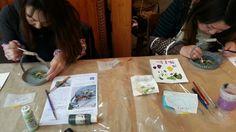 2月の「那須コピスガーデン」さんでのトールペイント教室の画像 | agri-happinessのブログ