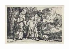 Christ returning from the Temple with his parents - Rembrandt Rembrandt Etchings, In Cold Blood, Dutch Painters, Museum Of Fine Arts, Illustrations, Paris, Small Dogs, Les Oeuvres, Mythology