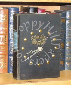 #book clock #book #clock