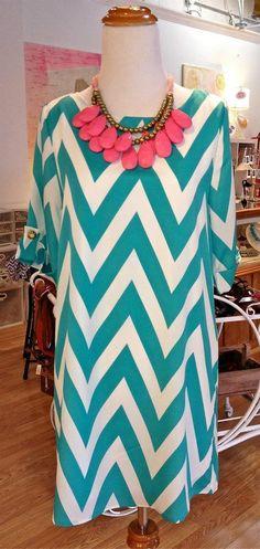 Chevron dress - summer!!