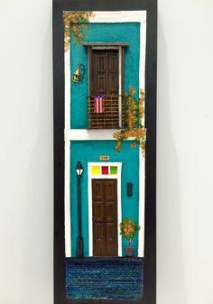 Artesanías de Puerto Rico balcones del viejo San Juan Puerto Rico art and crafts